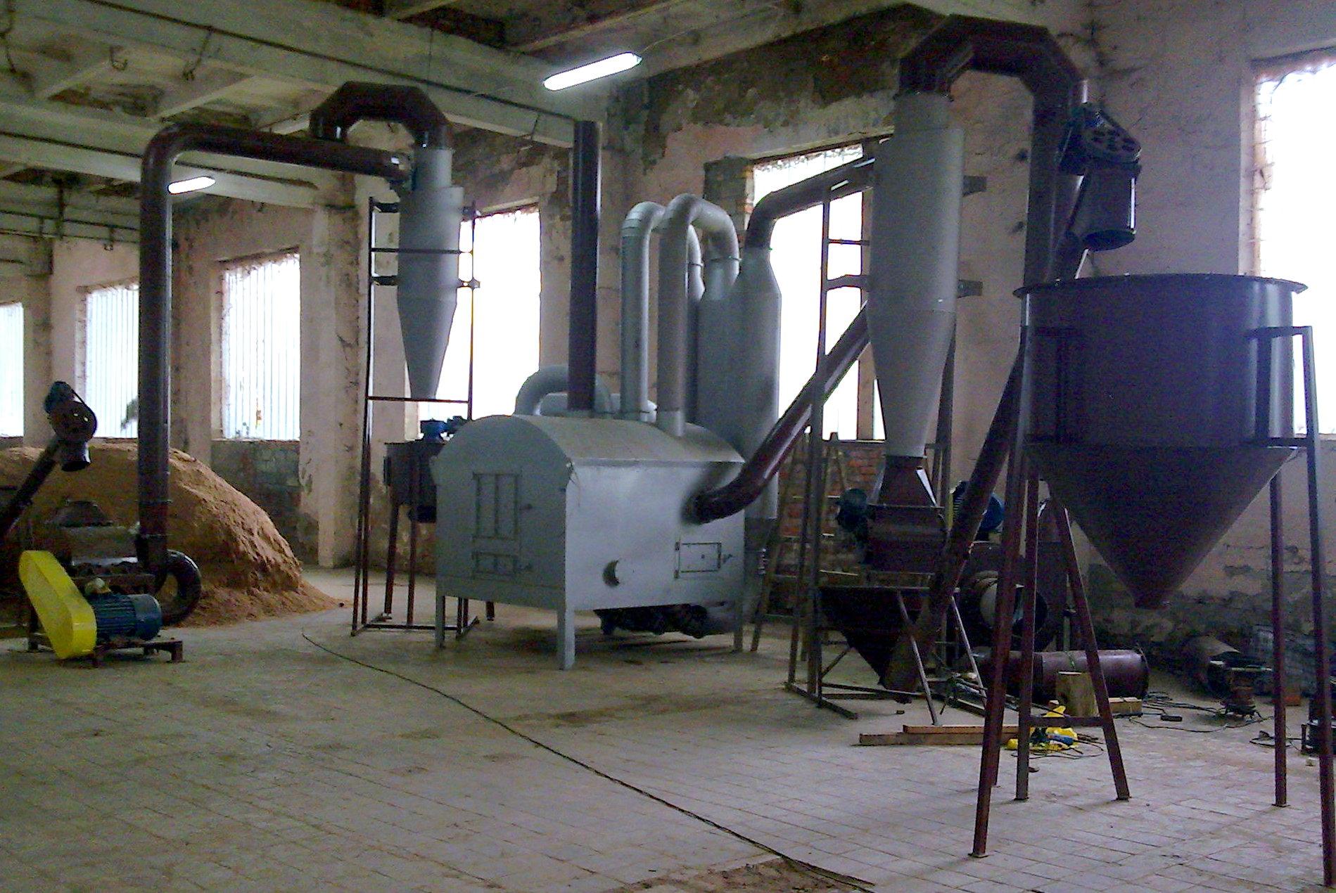 лінії виробництва паливних брикетів